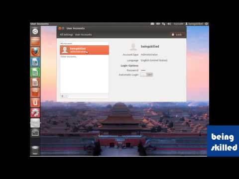 How to change User's password in Ubuntu ( Graphical User Interface )