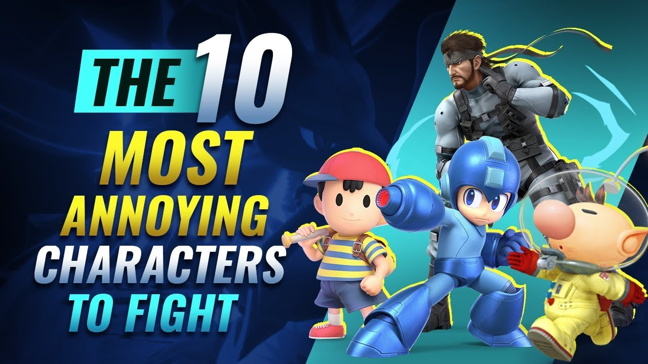 Top 10 Most Annoying Characters to Fight in Smash Ultimate