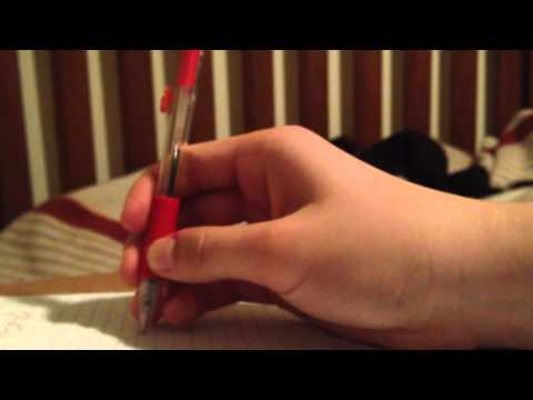 12 Ways to Hold a Pen!