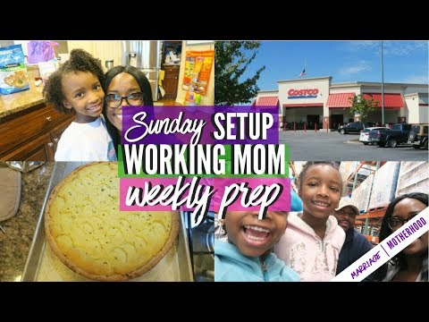 Working Mom Weekly Prep | Sunday Setup