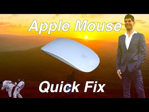 How to fix the Apple Magic Mouse - apple mouse not working 2017