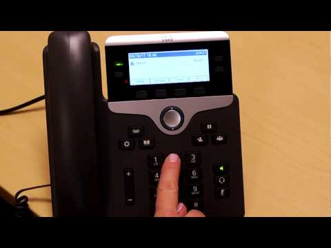 Cisco phone system voicemail setup and other voicemail features