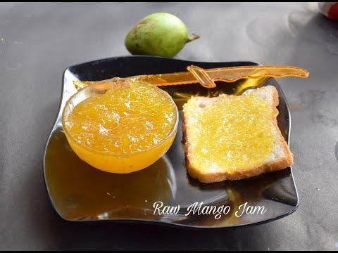 Raw Mango Jam Recipe | Homemade Mango Jam | Dessert Recipe - Bengali #350