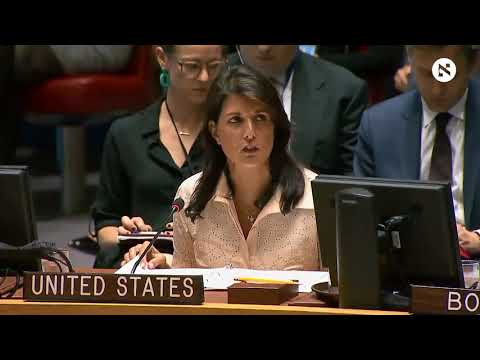 Nikki Haley: No country would act with more restraint than Israel