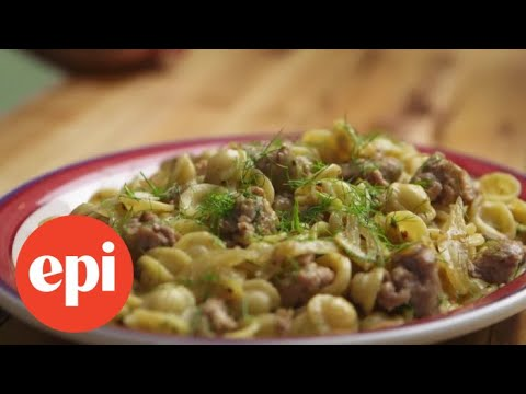 This Fennel and Sausage Pasta Only Has 3 Ingredients | Epicurious