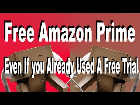 FREE Amazon Prime Tutorial - Still Works February 2017