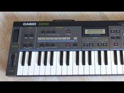 CASIO CZ-101 PD Synthesizer