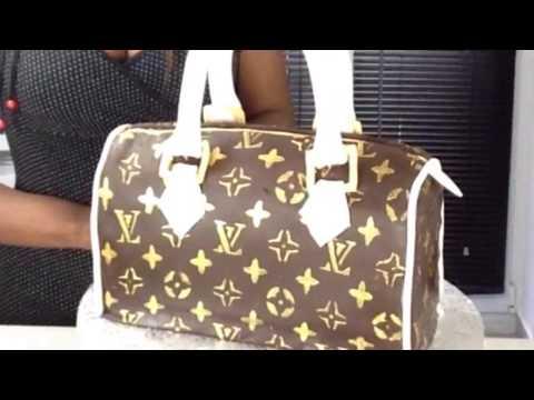 LV Cake purse