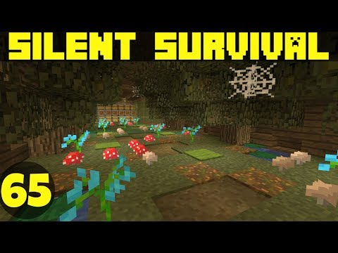Silent Survival Episode 65 Industrial Stick Farm! Minecraft Vanilla Survival [Xbox One]