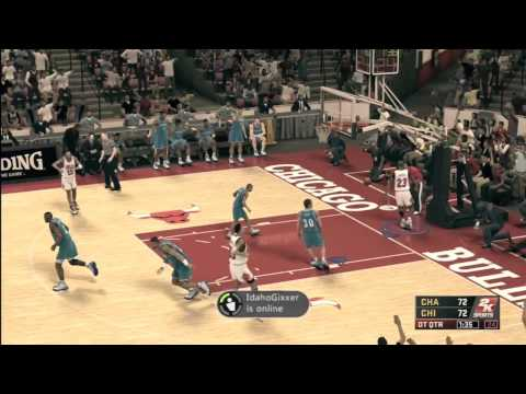 Farthest Dunk in NBA 2K12!! Dunk From Free Throw Line! Ft. Michael Jordan