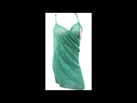 Mullsan womens swimsuit Cover Up and Spaghetti Strap Beach Dress One