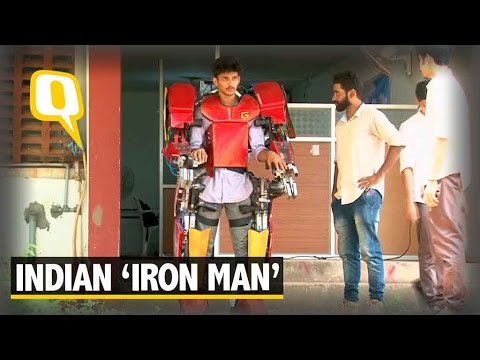 The Quint|  Check it Out: Indian Students Engineer This Cool 'Iron Man' Suit