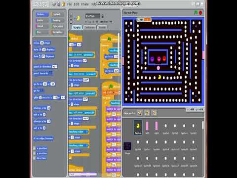How to create Pacman game from Scratch!!