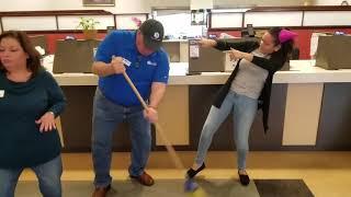 Fidelity Bank in River Ridge hits the Sean Payton
