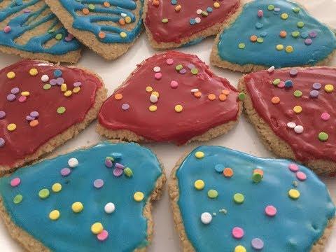 Vegan/GF Sugar Cookies W/Oat Flour