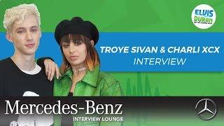 "Troye Sivan and Charli XCX on ""1999"" | Elvis Duran Show"