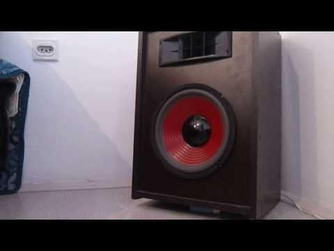 Two way speaker box 10 inch 200W/ 8 ohms