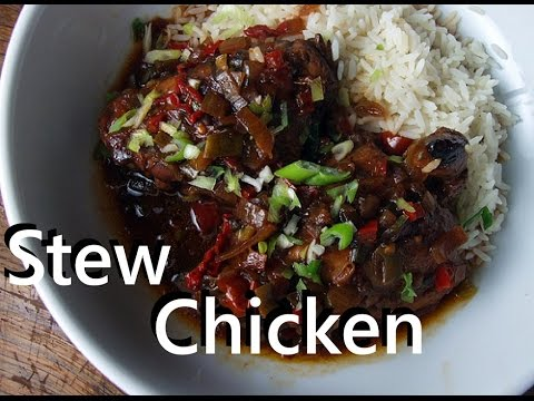 Caribbean Stew Chicken - How to make a Caribbean chicken stew