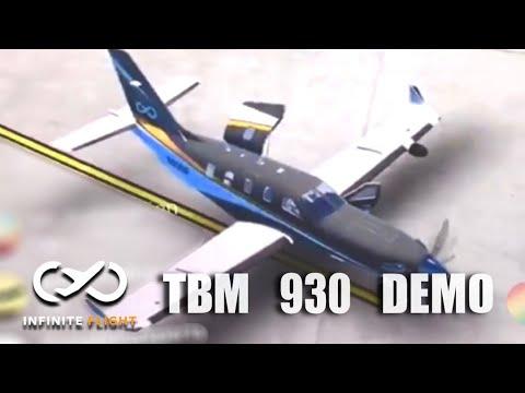 Infinite Flight Update - TBM 930 Demo/Preview! [MUST WATCH]