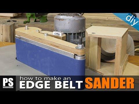 How to Make an Edge Belt Sander / part2