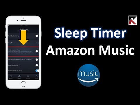 How To Turn Off Sleep Timer Amazon Music