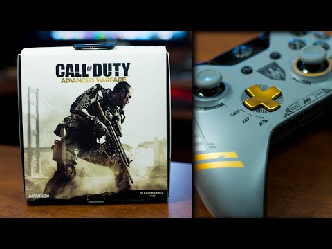 Call Of Duty: Advanced Warfare Limited Edition Xbox One Controller Unboxing