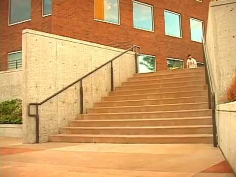 BIG STAIRS BACKSIDE FLIP ATTEMPTS