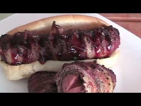 Jalapeno Cheddar Bacon Burger Dog
