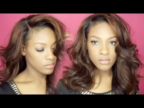 DIY | Black to Brown Hair in ONE Step (Coloring Tutorial) - Natural Looking Lacewig | MsJazzy2Classy
