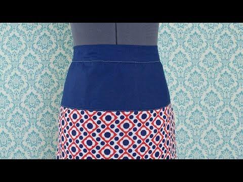 How to Assemble A Skirt Yoke