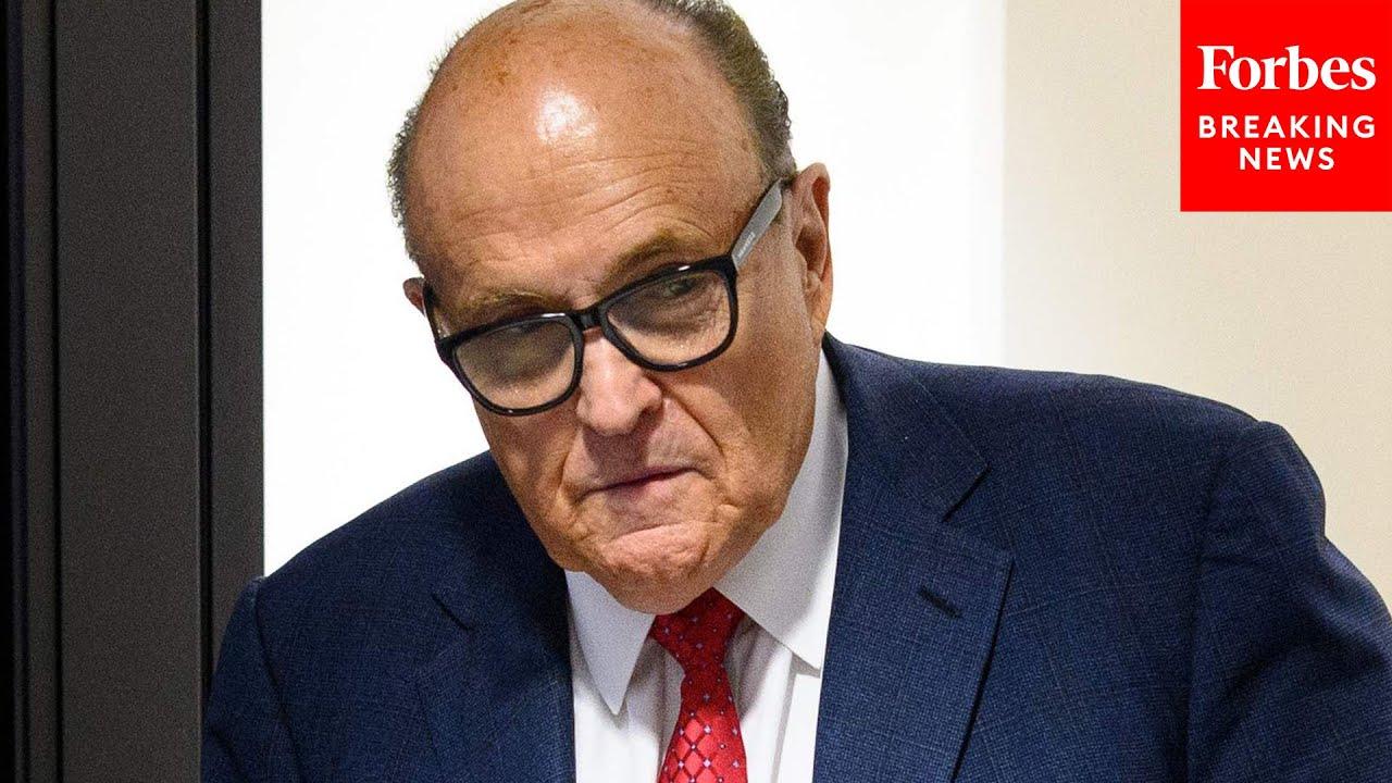 GOP Senator Rips Washington Post Over Rudy Giuliani Story