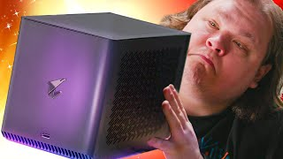 WHY is this WATER COOLED??? - AORUS RTX 2080 Ti Gaming Box eGPU
