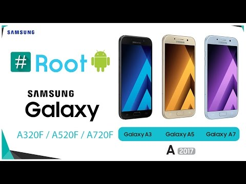 Root Samsung A Series 2017 A3,  A5,  A7  and Install Custom Recovery TWRP /CWM