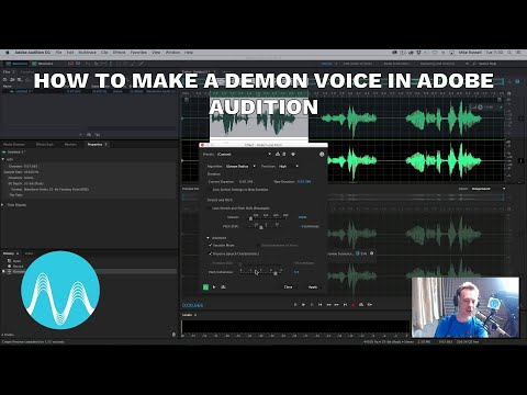 How to Make a Demon Voice in Adobe Audition