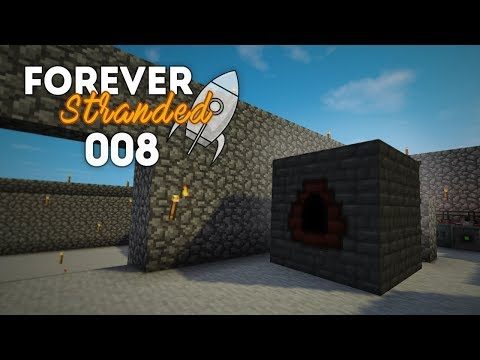 Forever Stranded Lets Play EP8 | Coke Oven + Blast Furnace! (Modded Minecraft)