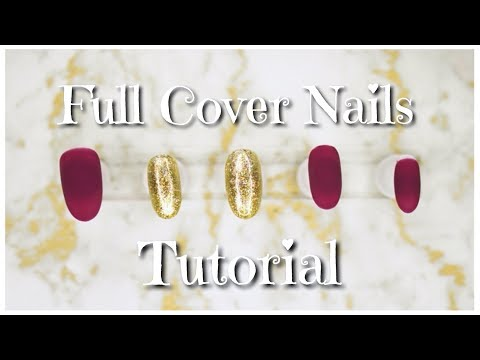 Simple Press On Nail Design | DDF Nails Tutorial | 2017 | DivaDollFlawless