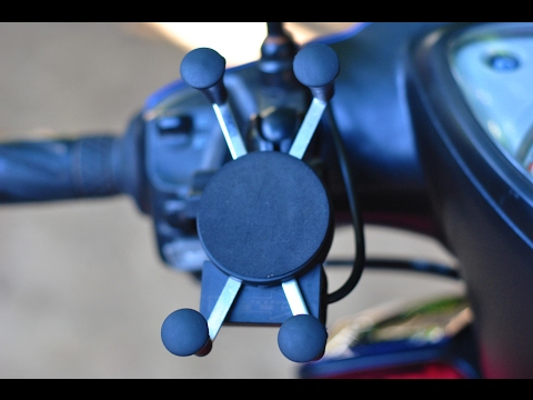 MIO MOD motorcycle phone holder and charger