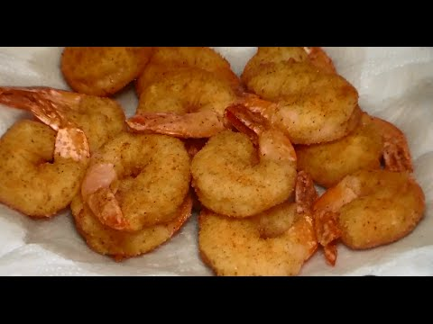 Easy Crispy Fried Shrimp Recipe: How To Make Crispy Fried Shrimp