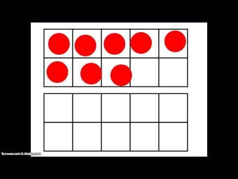 Kindergarten 10-Frames - Singapore Math