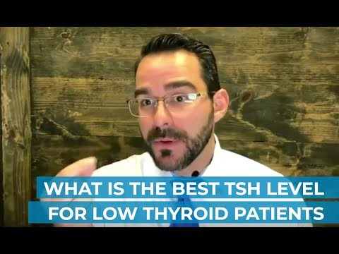 What is the Best TSH Level for Low Thyroid Patients
