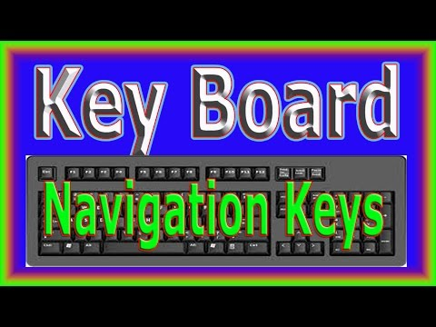 How to learn typing / keyboard layout/ Navigation keys in urdu and hindi Part - 05