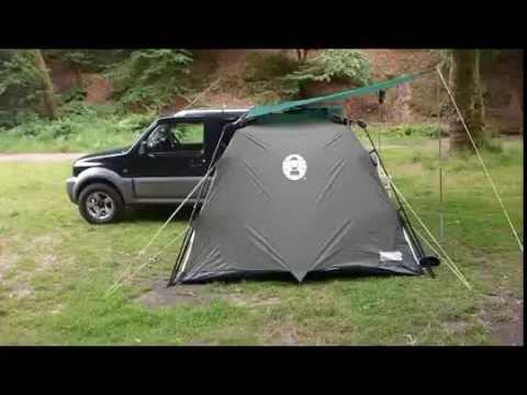 Jimny Camping set up