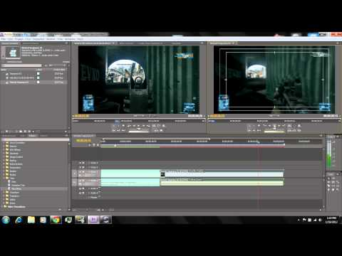 How to Make a Slow Motion Clip in Adobe Premiere Pro CS4