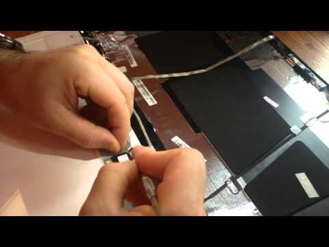 Laptop screen replacement / How to replace laptop screen Acer Aspire 5750z