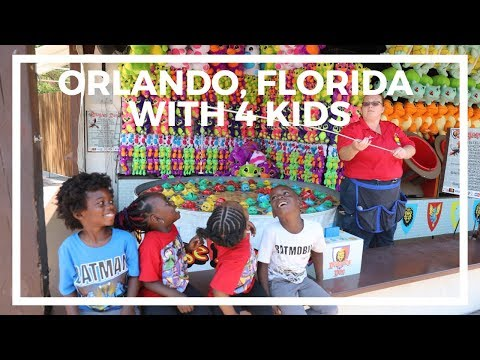Flying To Florida On Frontier Airlines With 4 Kids - Fun Things To Do In Orlando With Kids
