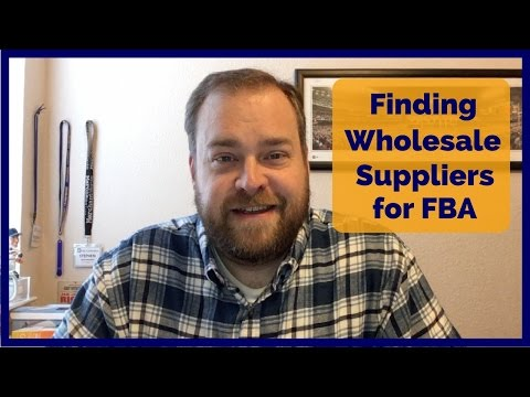 How to Find Wholesale Suppliers for Amazon FBA