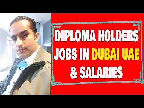 Diploma Holders Jobs In Dubai UAE & Salaries