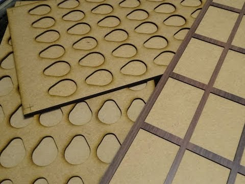 Flatbed Printer Jigs: CNC Laser Cut Formica & MDF