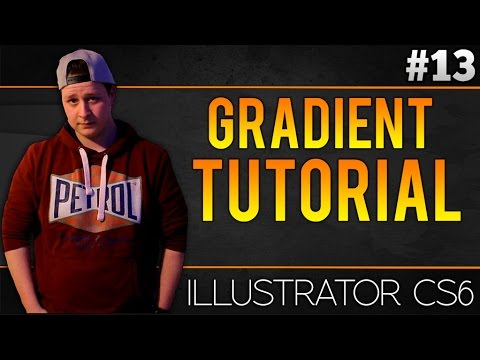 How To Make A Gradient Effect In Adobe Illustrator CS6 - Tutorial #13