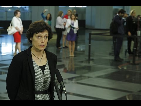 Doorstep by Liliane Volozinskis ahead of Meeting of Ministers for Vocational Education and Training